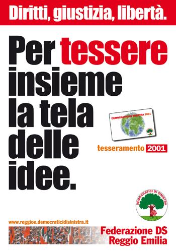 TESSERAMENTO DS 2001